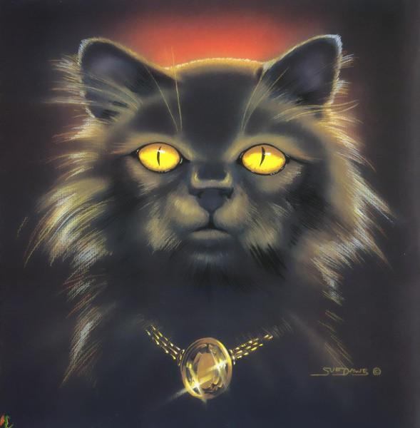 дьявол кот